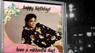 michael jackson happy 53rd birthday 08292011