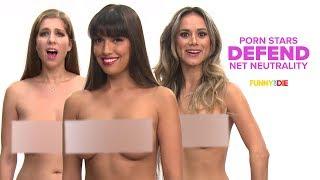 Porn Stars Defend Net Neutrality