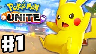 Pokemon Unite - Gameplay Walkthrough Part 1 - Intro and Standard Unite Battles! (Nintendo Switch) screenshot 2