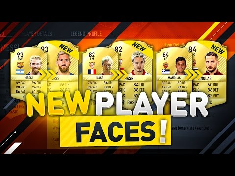 NEW PLAYER FACES!