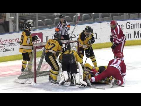 2016 03 05 CHSAA State Hockey Championship Regis vs Monarch HIGHLIGHTS