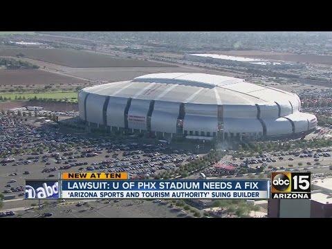 Lawsuit: University Of Phoenix Stadium Needs A Fix