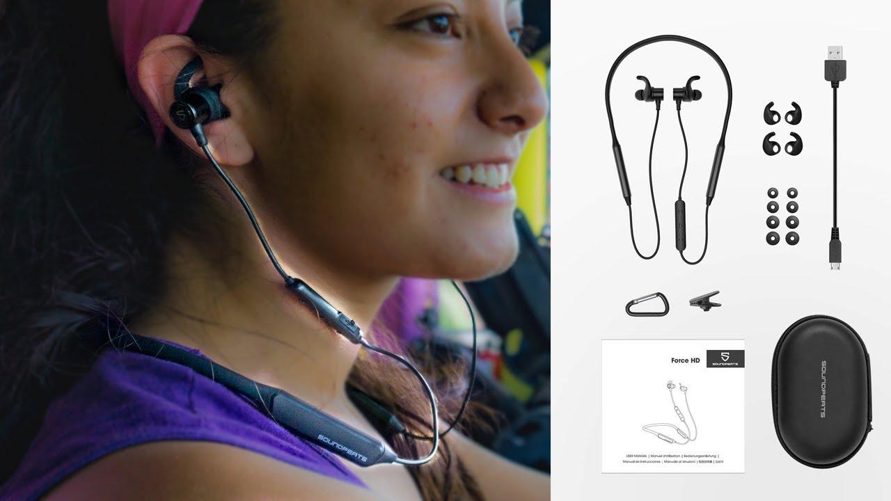 SoundPeats ForceHD ¡Los Mejores Auriculares Para Hacer Ejercicio En 2019!