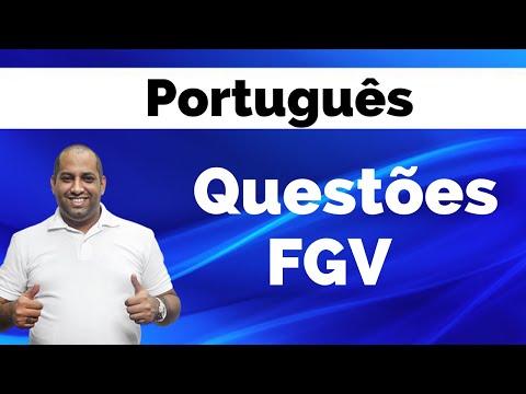 Treinamento de Provas FGV - Português com Deivid Xavier (Parte 1)
