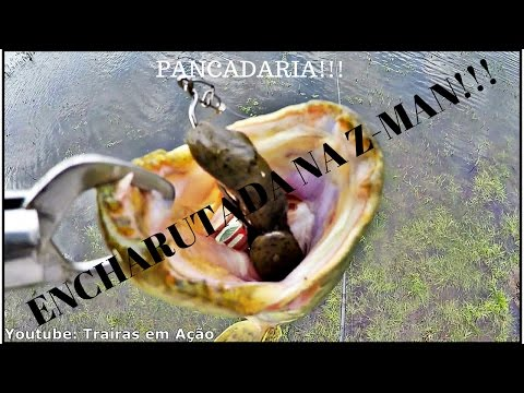 Z-MAN Hard Leg FrogZ - DETONANDO!!!!