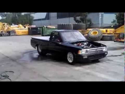 Hilux Drag Truck First Testing Youtube