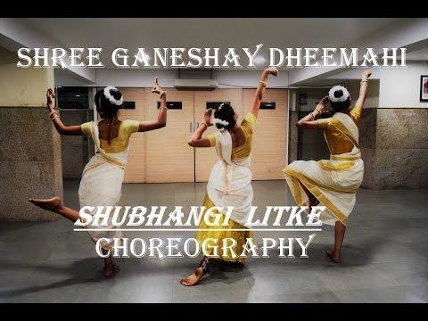 Shree Ganeshay Dheemahi   DANCE cover   Viruddh   Shubhangi Litke Choreography