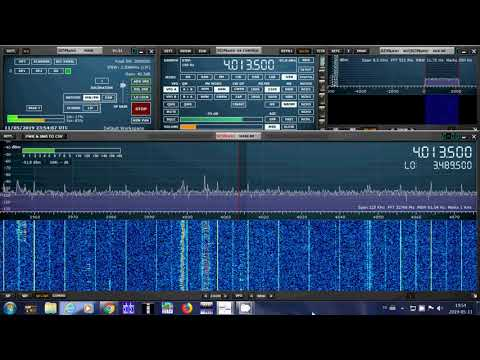 Newport Naval Radio Station Museum Rhode Island Armed Forces Day Cross band test 40135 kHz