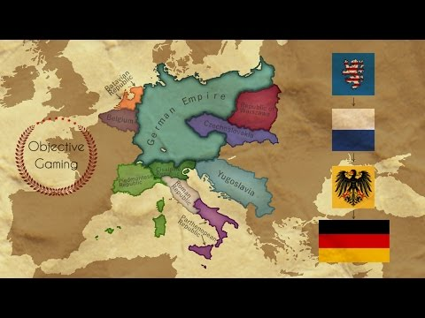 EU IV - Playing tall as Germany - Timelapse