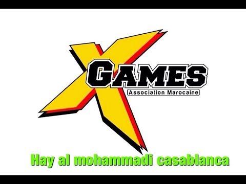 x-games association marocaine/hay al mohammadi casablanca