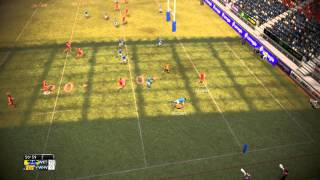Rugby League Live 2 Gameplay Championship Teams Workington vs Whitehaven