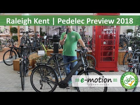Raleigh e-Bikes - Kent 10: Vorstellung 2018 | Pedelec Preview, Vorschau