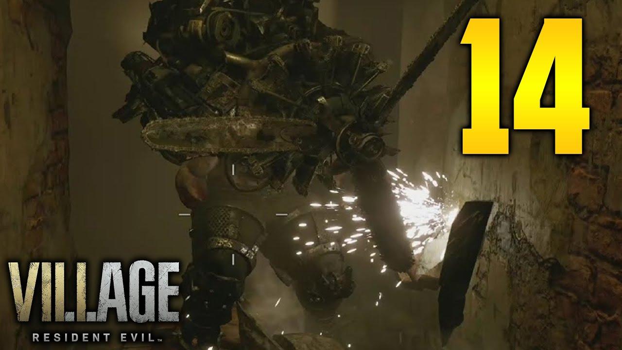"Resident Evil 8 Village Part 14 - ""PROPELLER HEAD!"" (Walkthrough/Gameplay)"