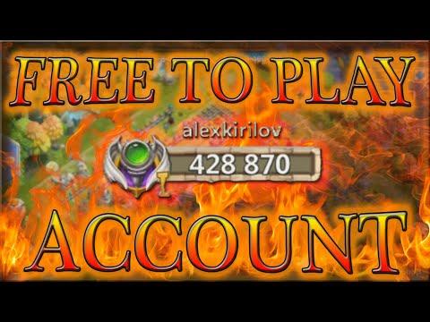 BEST F2P ACCOUNT ALTAR REVIEW L F2P Account L Castle Clash