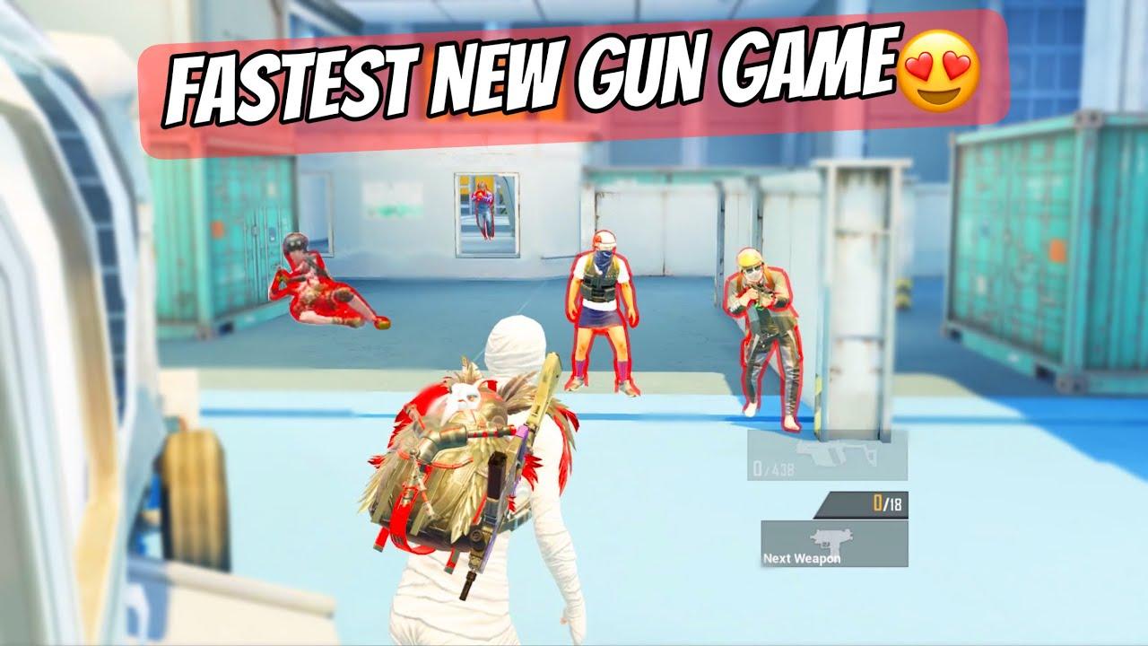 New INSANE GUN GAME Match🔥|Pubg Mobile