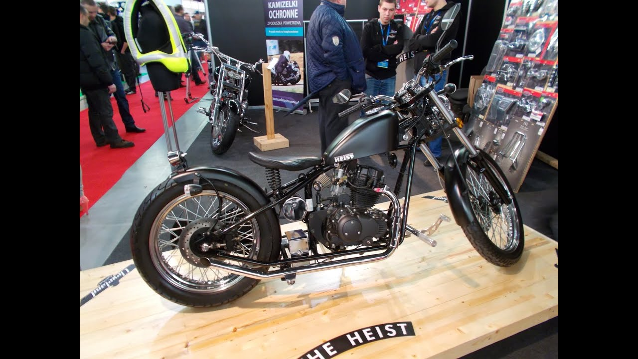 The Heist upgraded motorcycle