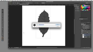 HOW TO Create a Leaf Pattern Brush in Photoshop