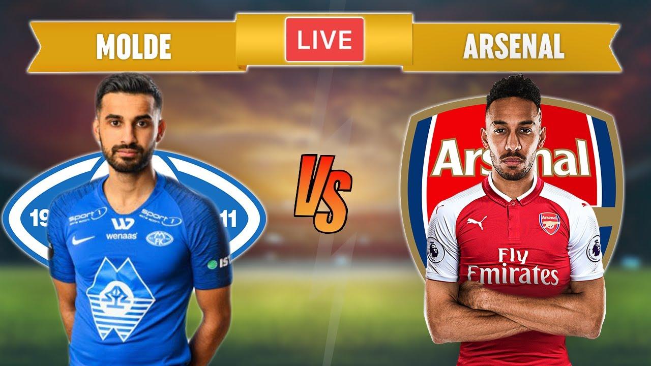 MOLDE vs ARSENAL - LIVE STREAMING - Europa League - Football Match