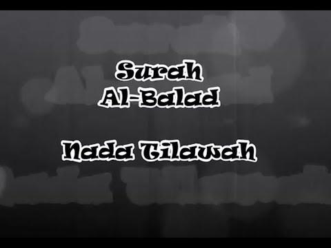 Surah Al Balad Nada Tilawah