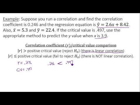 Linear Regression - Predicting Values