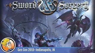 Sword & Sorcery: Darkness Falls — game overview at Gen Con 2018