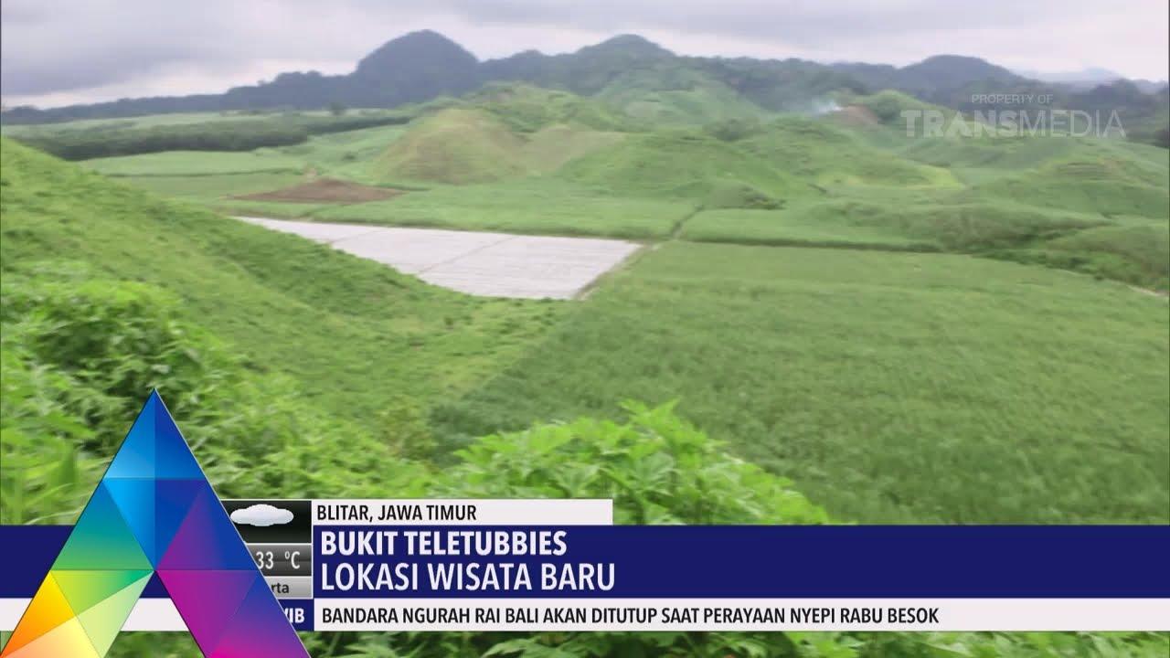 Eksplore Yudo Wow Ada Bukit Teletubies Di Kota Blitar