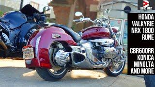 Extremely Rare Honda Nrx 1800 Rune Valkyrie Cbr600rr Konica Minolta Goldwing Dinosvlogs