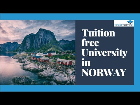 Good Time to Unlock the Career | Tuition Free University in Norway | List of Universities in Norway