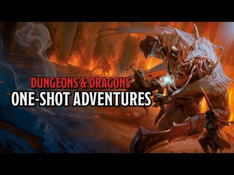 Running your own One-Shot D&D Adventure