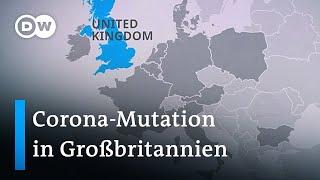Europa isoliert großbritannien aus sorge vor mutiertem coronavirus   dw nachrichten