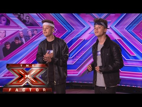 The Brooks sing Westlife's Us Against the World | Room Auditions Week 2 | The X Factor UK 2014