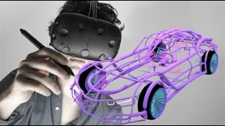 virtual reality 3D modeling software will let you design in mid-air
