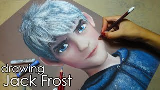 Speed Drawing: Jack Frost | Diana Díaz
