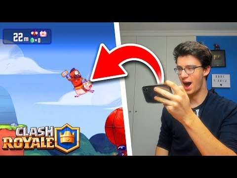 LE MINI-JEU SECRET CACHÉ DANS CLASH ROYALE !