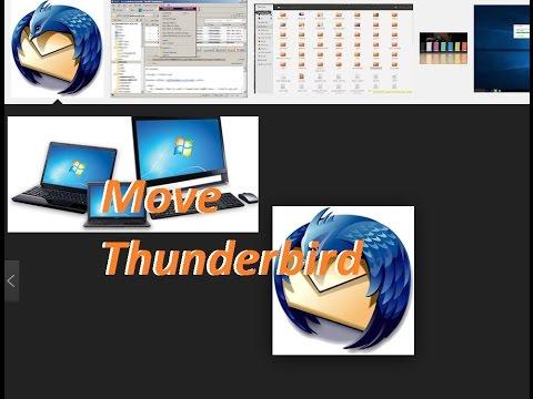 Transfer Thunderbird From PC To New PC