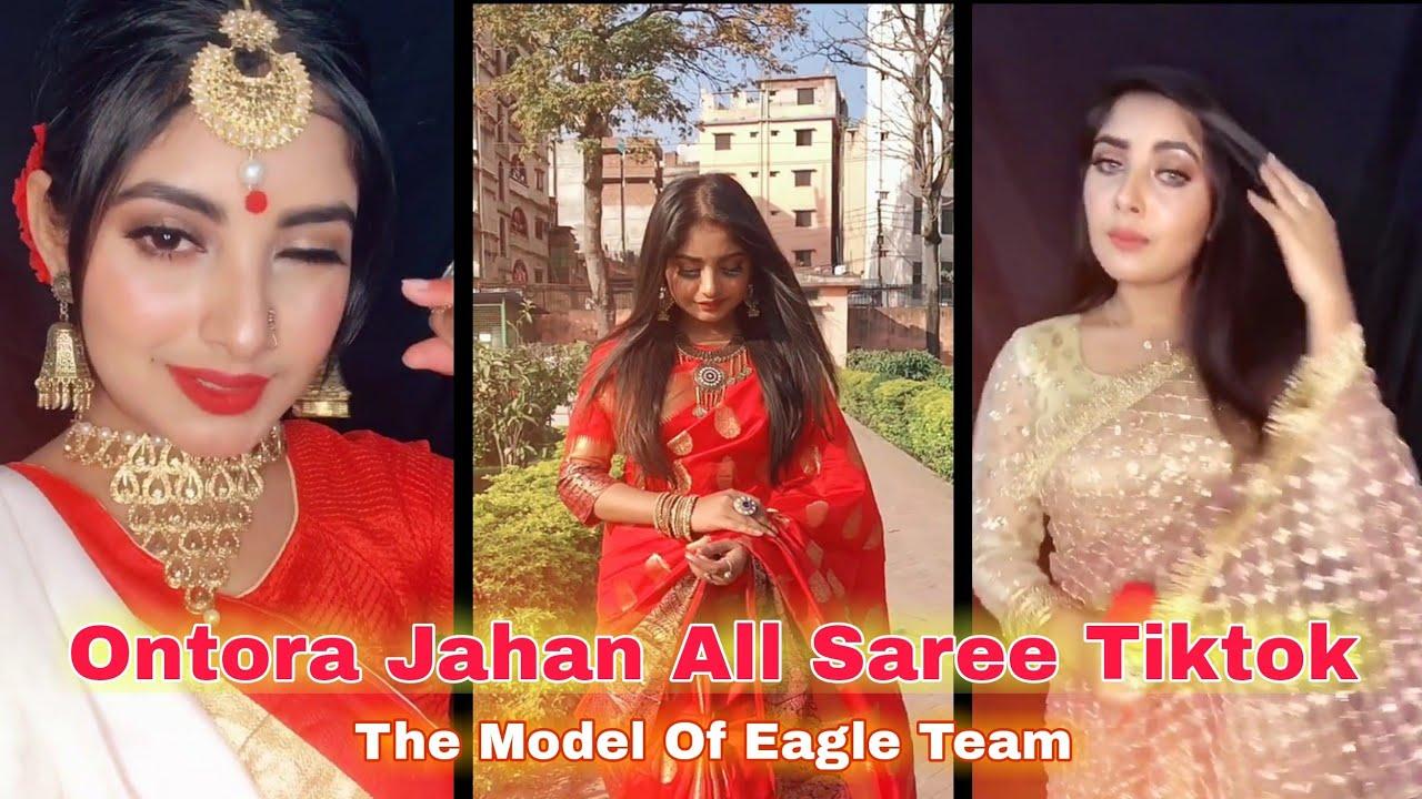Download Ontora Jahan All Saree Tiktok । Model Of Eagle Music৷। অন্তরার সব শাড়ি টিকটক । AH Tiktok Videos