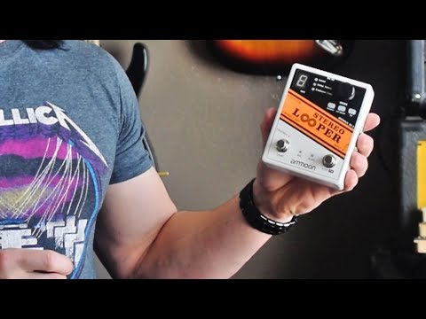 the-ultimate-budget-looper-pedal---ammoon-stereo-looper---demo-/-review