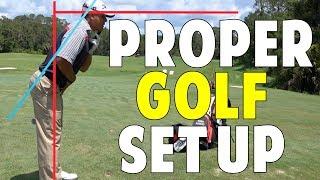 Proper Golf Setup