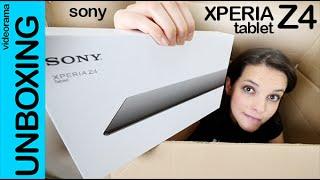 Sony Xperia Tablet Z4 unboxing en español