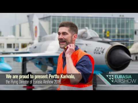 We are proud to present Perttu Karivalo, the Flying Display Director of #EurasiaAirshow.