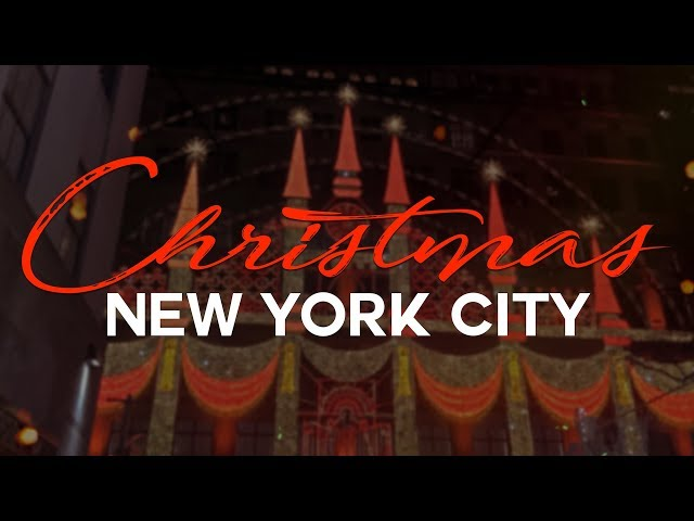 La Magie De Noël À New York - Welcome To America #4