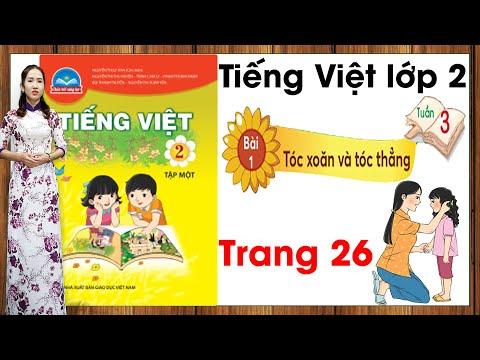 Tiếng Việt lớp 2 chân trời sáng tạo tuần 3 bài 1  Tóc xoăn và tóc thẳng