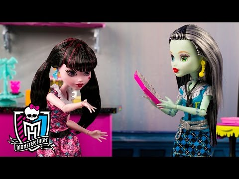 Raising Dough with a Monster High Bake Sale | Spring Into Action | Monster High