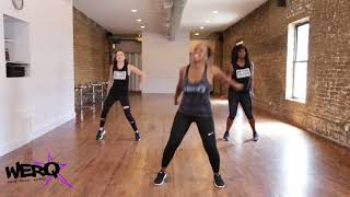 WERQ Dance Fitness // Playinwitme by KYLE ft  Kehlani