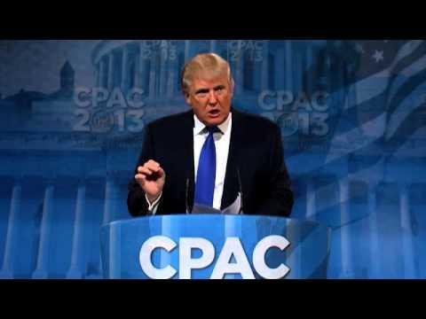 CPAC 2013 - Donald Trump