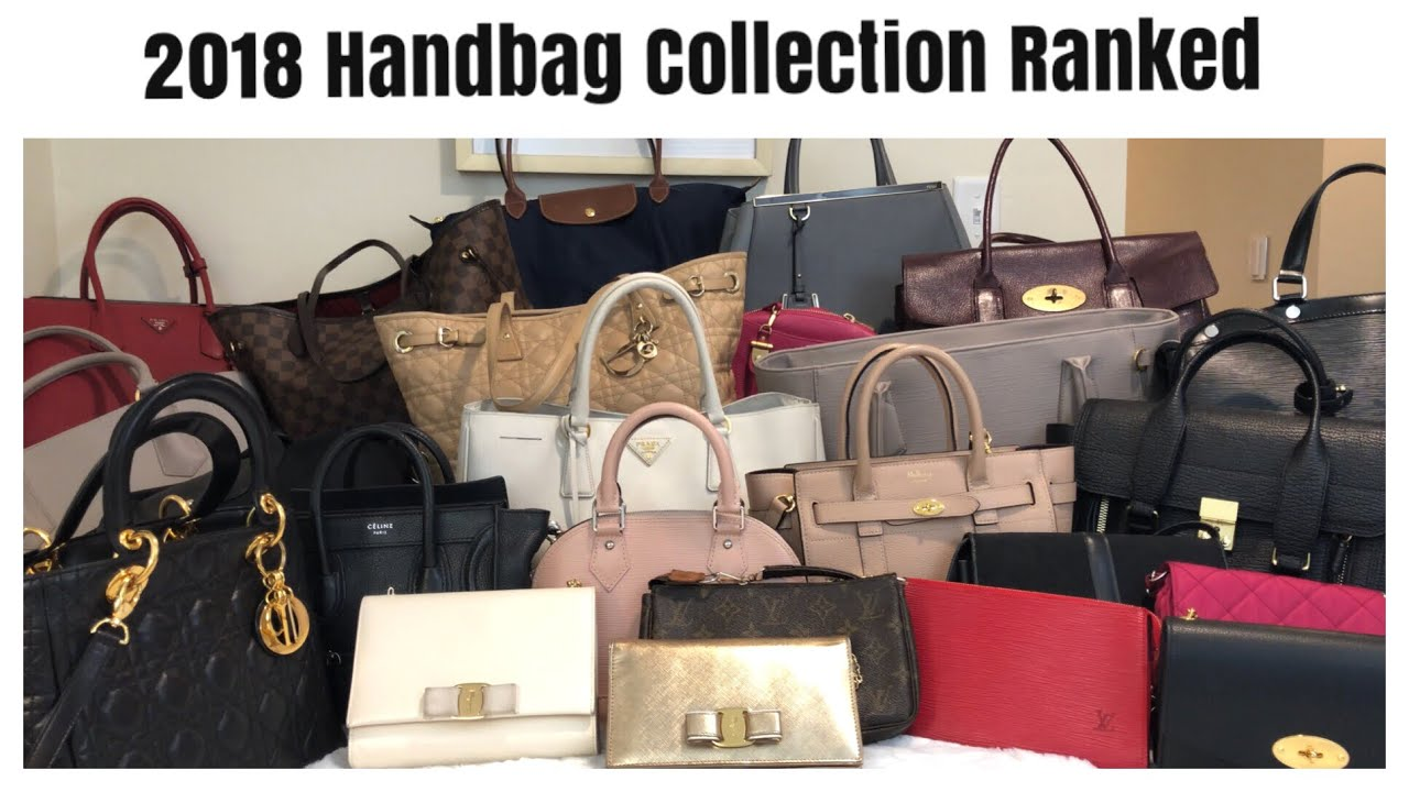 2018 Handbag Collection- Ranked Most to Least Used  ebbbc1d510596