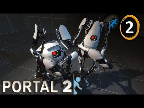 Portal 2 Coop : Troll is Coming | 02 - Let's Play