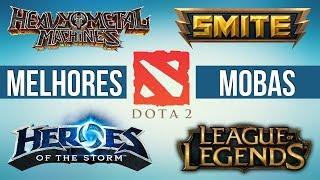TOP 5 MELHORES MOBAS para PC (gratis) parte 1