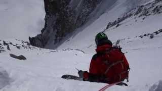 Mont-Blanc du tacul ski couloir gervasutti