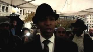 Occupy Oakland-Oscar Grant Unity rally pt.3, Keith Muhammad Thumbnail